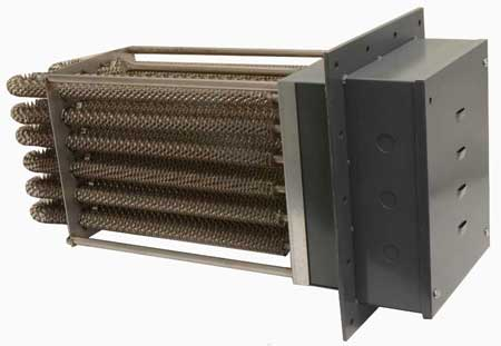 finned duct heater